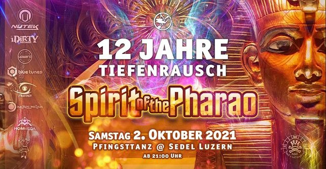 TIEFENRAUSCH - Spirit Of The Pharao 21 May '22, 21:00