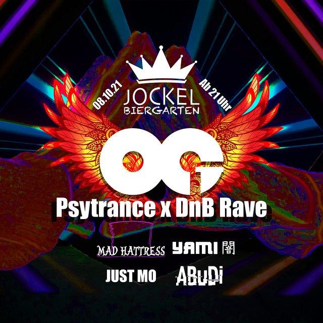 OG Psytrance x DnB Rave 03 (2G) 8 Oct '21, 21:00