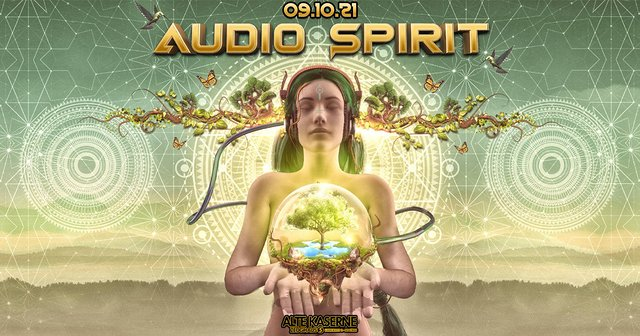 Party Flyer **Audio Spirit** 9 Oct '21, 22:30