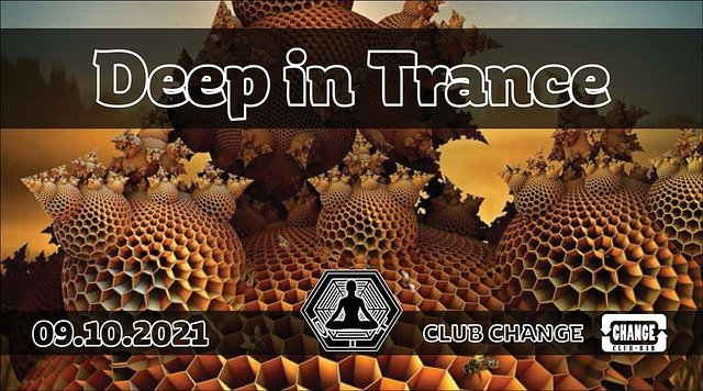 Party Flyer Deep in Trance 9 Oct '21, 22:00