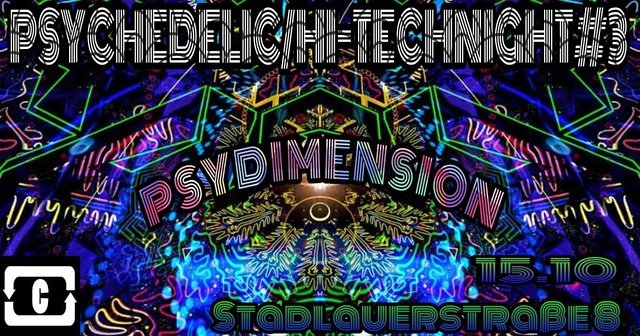 PSYCHEDELIC / HI-TECH NIGHT #3 15 Oct '21, 22:00