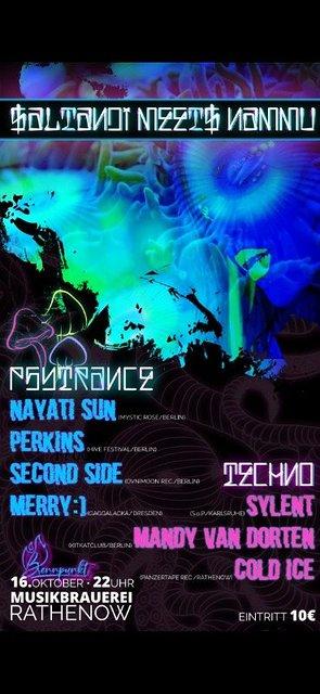Party Flyer Saltandi meets Nammu 16 Oct '21, 22:00
