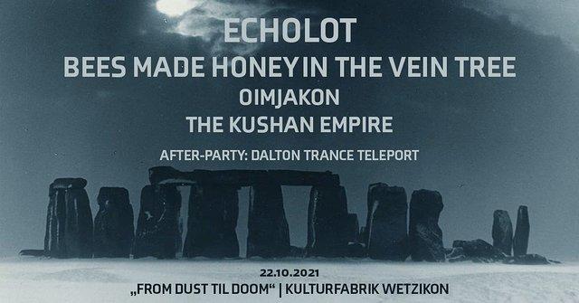 Party Flyer From Dust Till Doom 22 Oct '21, 22:00