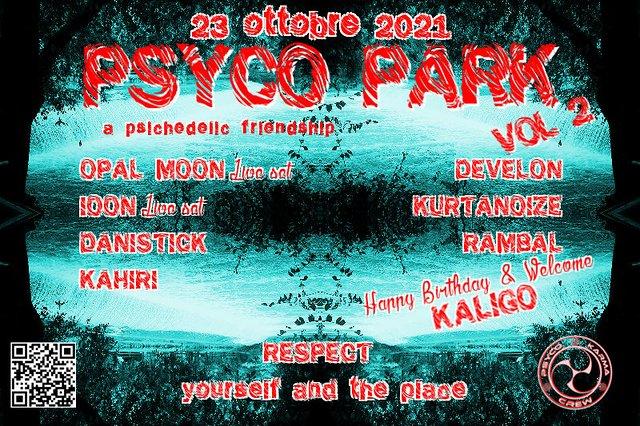 PSYCO PARK vol.2 23 Oct '21, 22:00