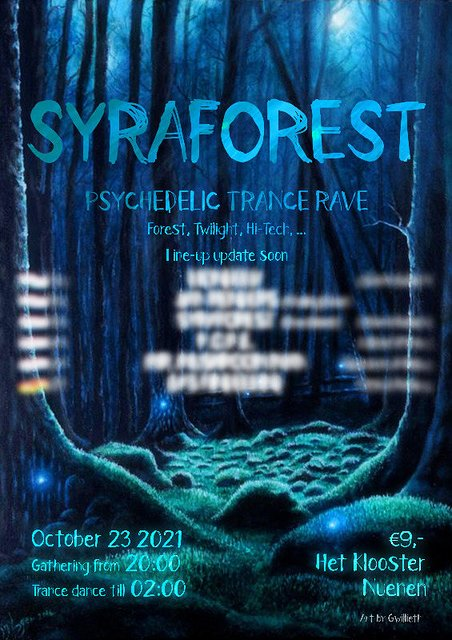 Party Flyer Syraforest II (18+) 23 Oct '21, 20:00