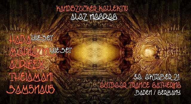 Kandiszucker Kollektiv: Aloz Nogrog 30 Oct '21, 18:00