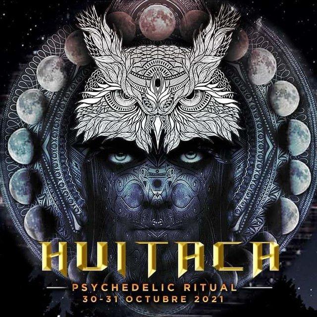 Party Flyer Huitaca Ritual Healing 30 Oct '21, 10:00