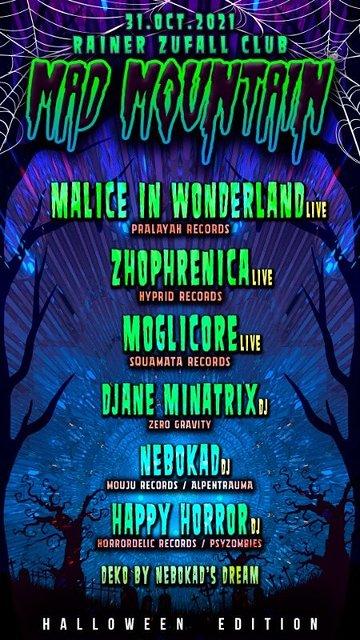 MadMountain *Halloween Edition* 31 Oct '21, 23:00