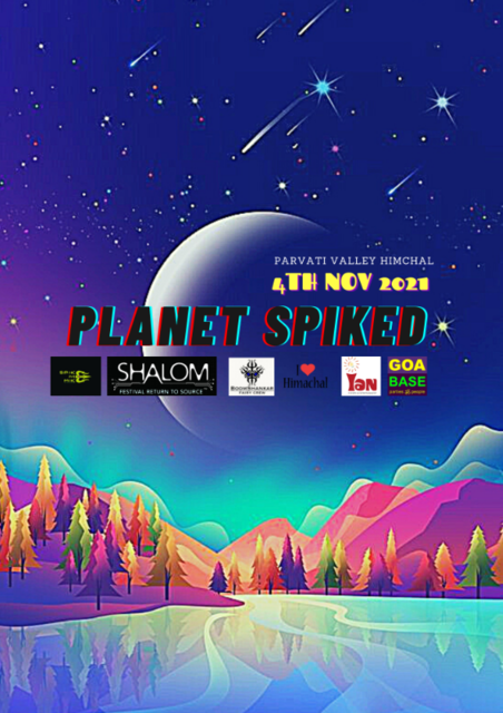 Party Flyer PLANET SPIKED 4 Nov '21, 10:00
