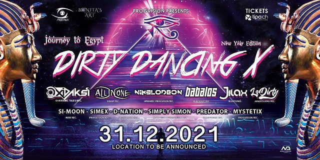 Party Flyer ★ DIRTY DANCING X ★ (New Date!) w/ OxiDaksi, All In One, Babalos uvm. 31 Dec '21, 20:00
