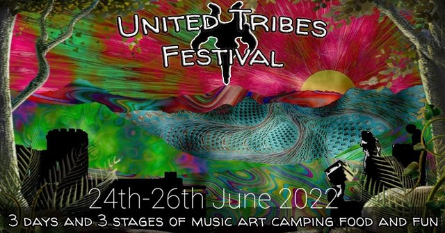 Party Flyer United Tribes Gathering 24 Jun '22, 18:00