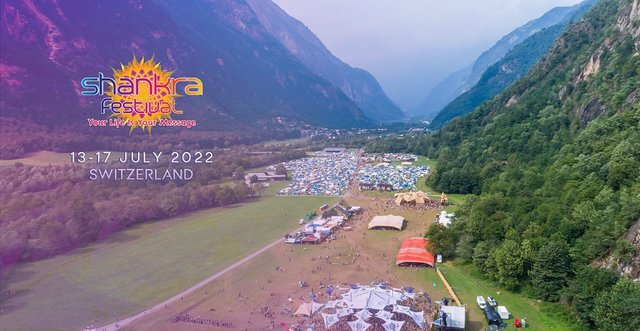 Shankra Festival Switzerland 2022 13 Jul '22, 15:00