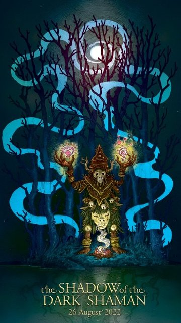 Party Flyer The Shadow Of The Dark Shaman By MindGamers 26 Aug '22, 20:00