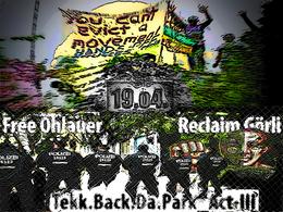 Party Flyer Tekk Back Da Park - Act III 19 Apr '15, 12:00