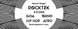 Party Flyer ROCKTEK - INGRESSO A 1 EURO PER LE DONNE 1 May '15, 23:30