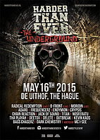 """Party Flyer Harder Than Ever """"The Underground"""" 16 May '15, 22:00"""