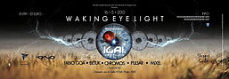 Party Flyer Waking Eye Light - Special Guest ILAI 16 May '15, 23:30