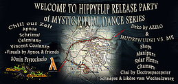 Party Flyer MYSTIC RITUAL DANCE HIPPYFLIP RELEASE STAMPF´N EIN ! ☮ ♫ ☼ ♪ ❂ 30 May '15, 21:30