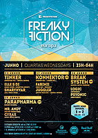 Party Flyer FREAKY FICTION 3 Jun '15, 23:00
