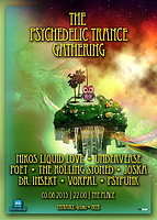 Party Flyer Psychedelic Trance Gathering 5 Jun '15, 22:00