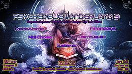 Party Flyer Psychedelic Wonderland 9 by Progressive Foundation 5 Jun '15, 22:00