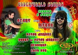 Party Flyer UNDERWORLD SOUNDS 6 Jun '15, 23:30