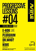 Party Flyer Progressive Lessons #04 9 Jun '15, 23:30