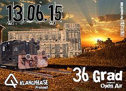 Party Flyer 36 Grad 2.0 13 Jun '15, 21:00