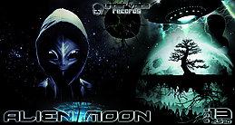 Party Flyer Alien MOON | Full Moon Dance PRE-Party 13 Jun '15, 22:00