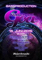 Party Flyer BASSPRODUCTION MAT MUSHROOM SPECIAL 13 Jun '15, 22:00