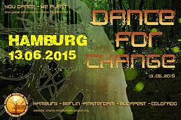 Party Flyer Dance-for-Change 2015 13 Jun '15, 22:00