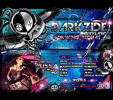 Party Flyer Dancing Budhas + Darkzide Aniversary 13 Jun '15, 23:30