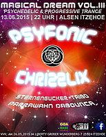 Party Flyer Magical Dreams VOL.lll Psyfonic Chrizzlix SDR. 13 Jun '15, 22:00