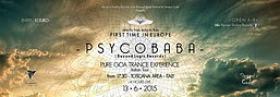 Party Flyer PSYCOBABA & CHROMOS -14 HOURS LIVE - PURE GOA TRANCE EXPERIENCE - FORM INDIA TO 13 Jun '15, 23:30