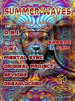 Party Flyer SUMMER WAVES 13 Jun '15, 23:30