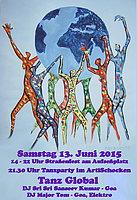 Party Flyer Tanz Global 13 Jun '15, 21:30
