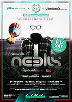 Party Flyer World Trance Day 13 Jun '15, 23:00