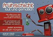 Party Flyer Frühschicht - laut & gemütlich 14 Jun '15, 08:00