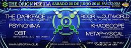 Party Flyer DIMENSION X & MAMA MANDAWA Presents : THE ORION NEBULA 20 Jun '15, 23:30