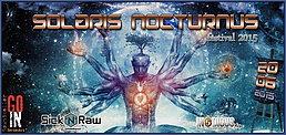 Party Flyer Solaris Nocturnus Festival 20 Jun '15, 22:00