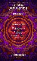 Party Flyer Spiritual Journey @ Postgarage 20 Jun '15, 22:00