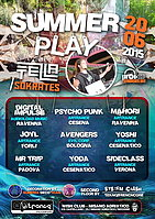 Party Flyer ◄ █ ❁ SUMMER PLΛY ❁ █ ► Tezla + Sokrates Live! First Open AirParty! 20 Jun '15, 23:00