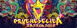 Party Flyer ૐ PSYCHEDELICA ૐ 27.06.2015 ૐ Zürich ૐ FREE ENTRY ૐ 27 Jun '15, 22:00