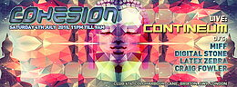 Party Flyer Cohesion Psychedelic Trance Party 4 Jul '15, 23:00