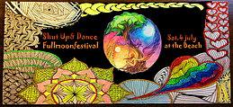 Party Flyer The Fullmoonbeachfestival 2015 by Shut Up& Dance 4 Jul '15, 20:00