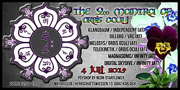 Party Flyer The Second Mantra of Orbis Oculi 4 Jul '15, 22:00