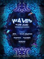 Party Flyer WAVES - SUMERGIDOS EN LA PSICODELIA! - @ M.Club - Valparaiso 4 Jul '15, 22:00