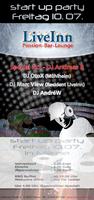 Party Flyer ॐ ॐ DEEP HOUSE & PSYTRANCE NIGHT ॐ ॐ 10 Jul '15, 19:00