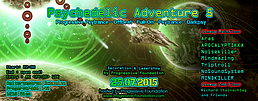 Party Flyer Psychedelic Adventure 5 by Progressive Foundation + Free Afterhour 25 Jul '15, 22:00