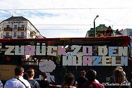 Party Flyer Zug der Liebe / Wurzeltruck 25 Jul '15, 14:00